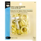 XL EYELET KIT-10CT-W/TOOL - MULTI