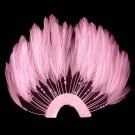 "5.5""x7"" HALF PIN WHEEL FEATHER"