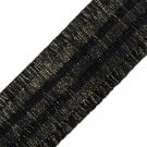2 1/4&quot; METALLIC RUFFLED ELASTIC