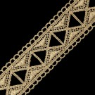 "1 3/8"" FINE METALLIC LACE"