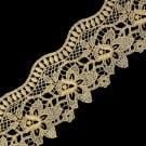"2 3/4"" (70mm) Fine Metallic Lace"