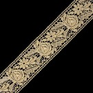 "1 1/2"" (38mm) Fine Metallic Lace"