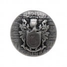 KING'S CREST METAL BLAZER BUTTON