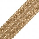 "1 1/2"" (38mm) Metallic Braid"