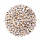 Brilliance Rhinestone Dome Button