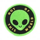 "2 1/2"" Not Of This World Patch"