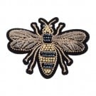 Bee Beaded Applique