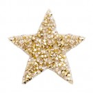 Small Star Jeweled Applique