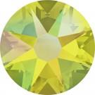 Citrine Shimmer Swarovski Flatback Crystal
