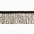 "1 3/4"" SEED BEADED LOOP FRINGE"