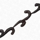 """1 3/4"""" PEARL AND SOUTACHE BEADED TRIM"""