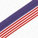 American Flag Grosgrain