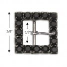 "5/8""X5/8"" R.S. BUCKLE W/PRONG"