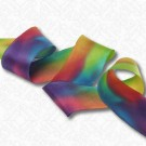 "1 1/2"" (38MM) HAND DYED SILK SATIN RIBBON"
