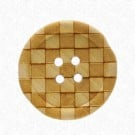 Checkered Wood Button