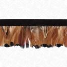 "1 3/4"" (45mm) Imported Feather Fringe"