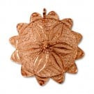 57MM METAL FLOWER