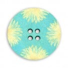 4-HOLE FLORALFASHION BUTTON