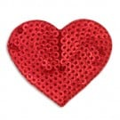 H.S. SEQUIN HEART APPLIQUE