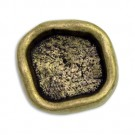 Hammered Antique Metal Button