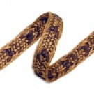 "5/8"" RAFFIA BRAID - COFFEE/BROWN"