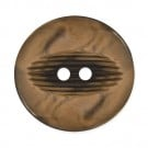 CENTRAL GROOVE FASHION BUTTON 2-HOLES