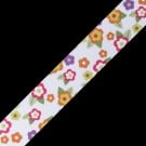 "7/8"" GARDEN FLOWERS RIBBON"