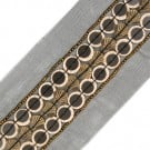 "1 1/2""(38mm)  Bone Beaded Borders"