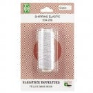 WASHABLE ELASTIC THREAD - WHITE