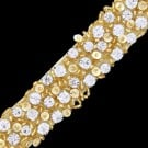 "1"" RHINESTONE BEADED TRIM"