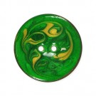 ENAMEL SWIRL PAINTED BUTTON
