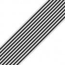 "1 1/2"" (38mm) Pencil Striped Grosgrain"