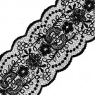 "2"" SHEER EMBROIDERED SCALLOP LACE"