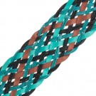 "1 3/4"" MULTI COLOR BRAIDED VINYL"