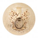 DOME BLAZER BUTTON WITH CREST