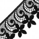 "2"" Scalloped Floral Lace"