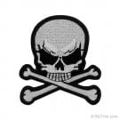 "3"" Skull and Crossbones Applique"