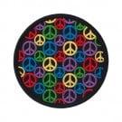 "3 1/4"" Mini Peace Signs Applique"