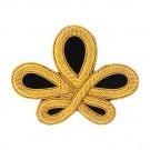 "3 1/2"" x 2 3/4"" Intricate Knot Bullion Applique"