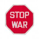 "3 1/4"" STOP WAR APPLIQUE"