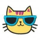 Cat w/ Sunglasses Patch