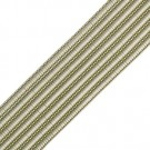 "1"" RAYON RIB BRAID-LIGHT BEIGE"