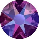 Fuchsia Shimmer Swarovski Flatback Crystal
