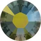 Swarovski Flatback Rhinestones - Iridescent Green