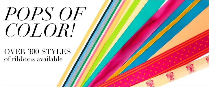 pops of color