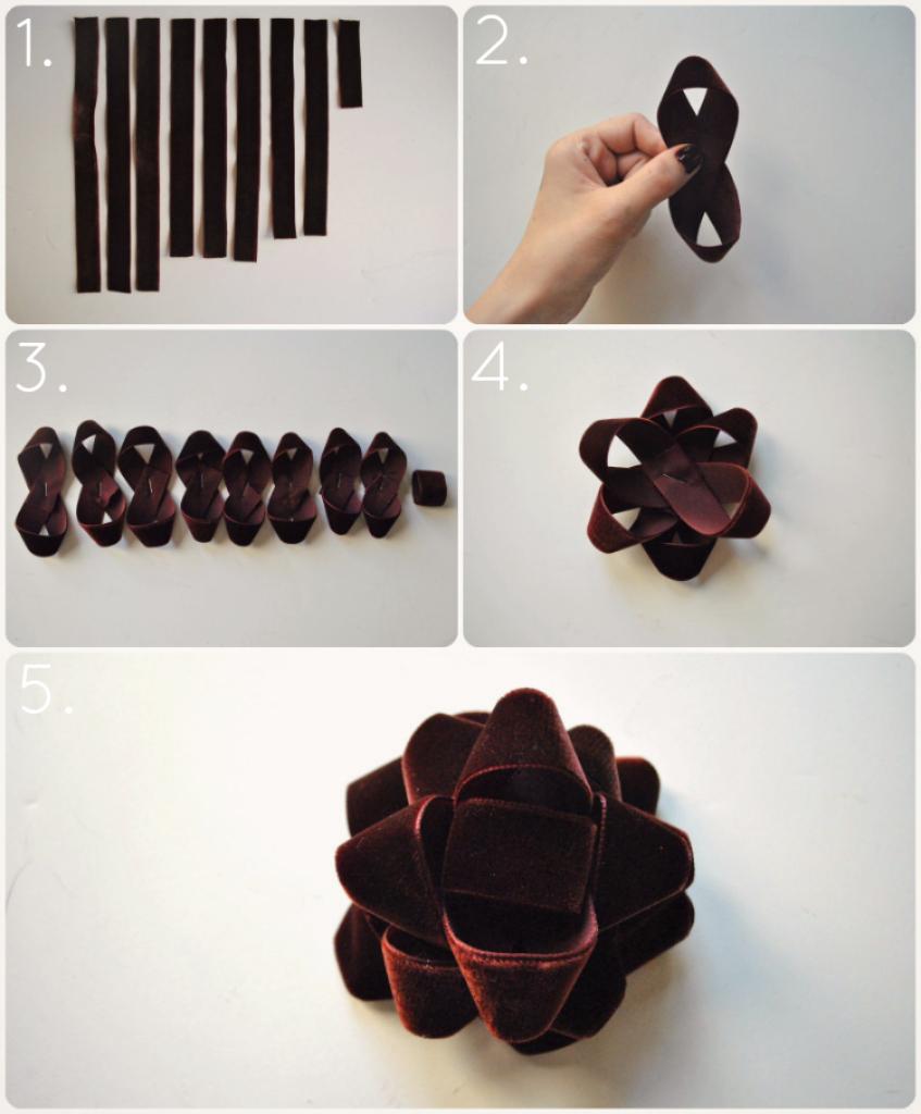 Diy Velvet Gift Bow M J Blog