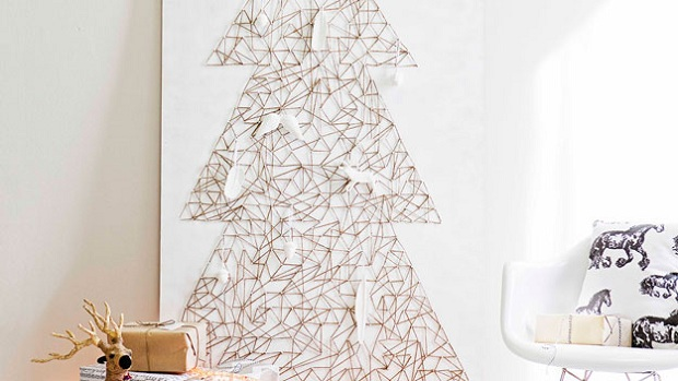 4DIY String Christmas Tree