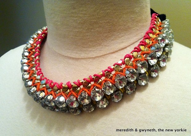 DIY-Rhinestone-and-Chain-Statement-Necklace_Finished