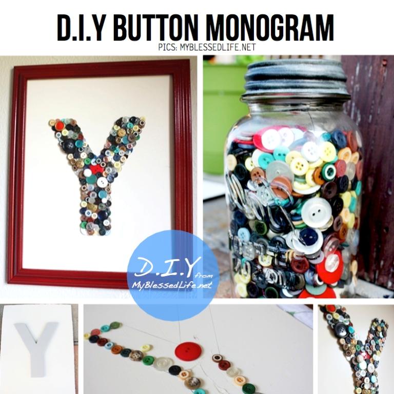Monogrammed DIY