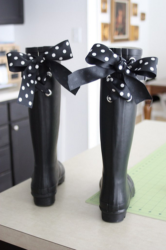 Embellished Wellies Rain Boots from Beach Brights